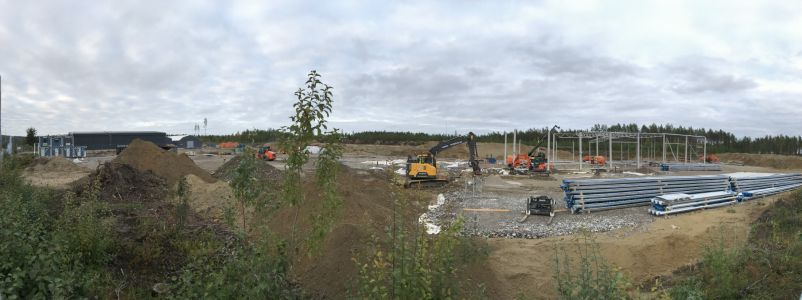 Construction site - panorama